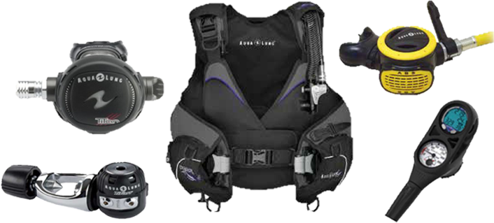 Women's Aqua Lung Scuba Package at New Wave Scuba