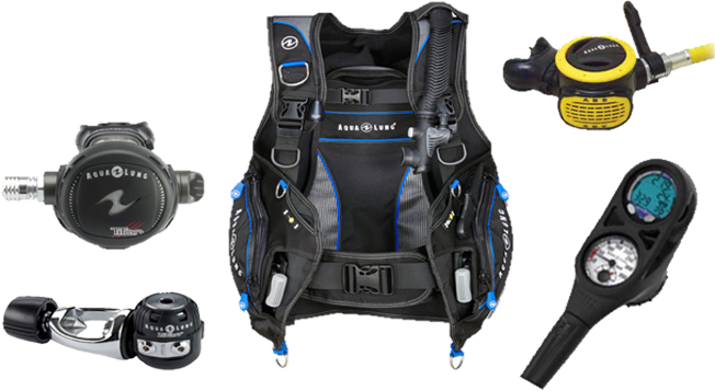 Men's Aqua Lung Scuba Package at New Wave Scuba